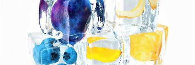 Sett smak på vannet med selvlagde isbiter, litt frukt eller bare en urtekvast