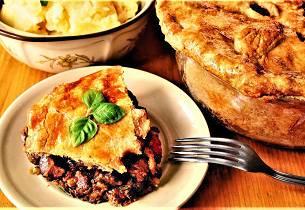 Steak and Kidney Pie som i England