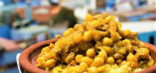 Sitronkylling med kikerter som i Marokko