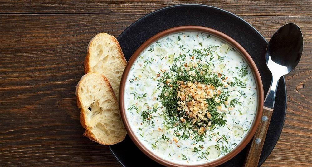 En kald suppe som dette er perfekt i sommervarmen