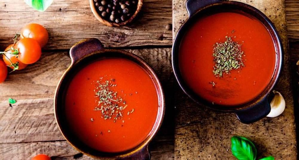 Glutenfri tomatsuppe med mye smak