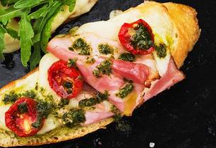 Bruschetta med pitabrød