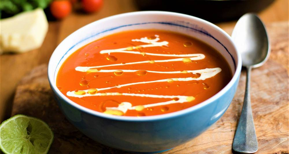 Tomatsuppe fra Mexico