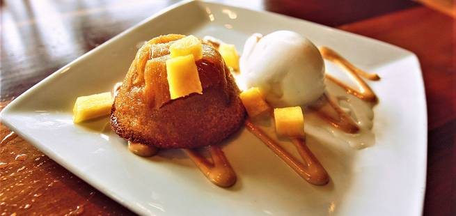 Dessertkake fra Hawaii