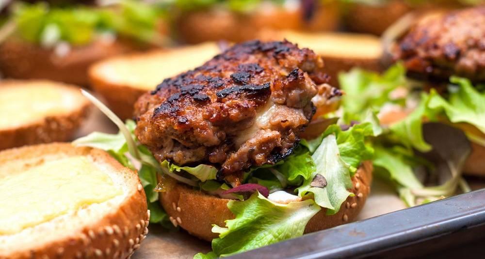 Hamburger i form