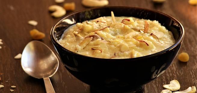 Kheer indisk dessert