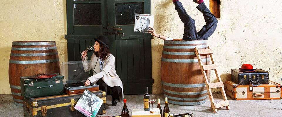 Årets morsomste vinsmaking: Møt to italienske stjerneprodusenter og smak deres spennende viner
