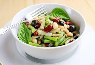 Grønn bønnesalat