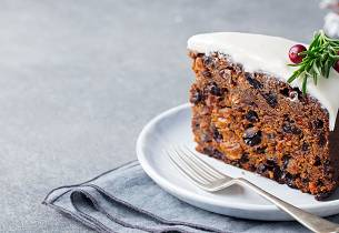 Uncle Jeffrey's Ultimate Christmas Cake