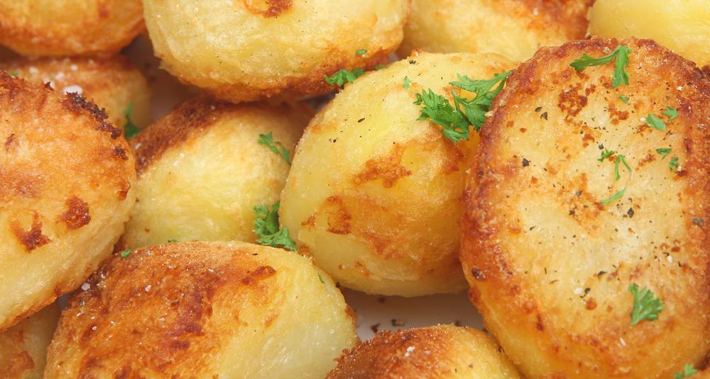 Skikkelige sprøstekte poteter
