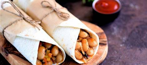 Burritos med torsk kan bli den nye familiefavoritten