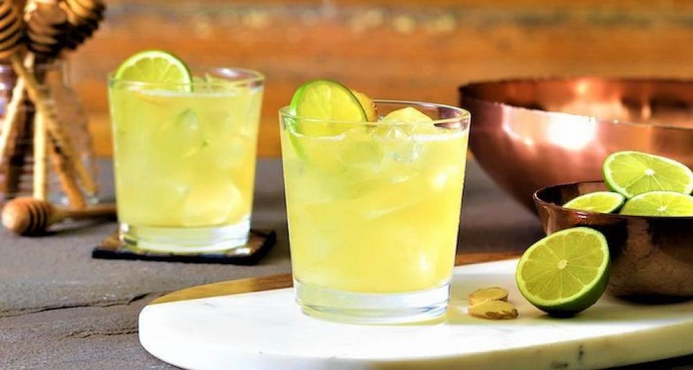 Honey Ginger Margarita