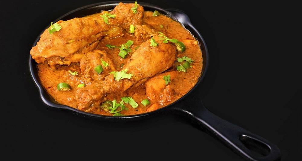 Kylling med mandel- og cashewsaus
