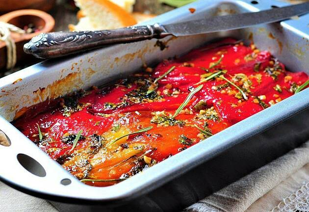 Paprika smaker mye bedre på denne måten