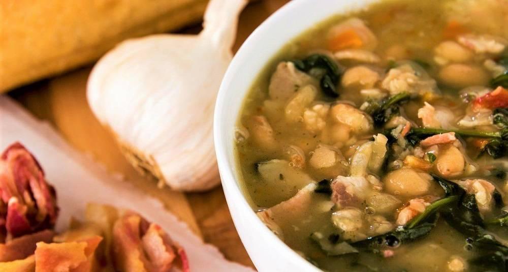 Med en slik suppe på middagsbordet blir du ikke lurt, trolig heller bønnhørt