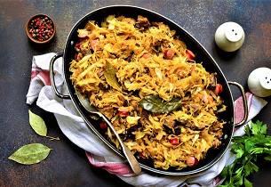 Bigos - polsk kjøttgryte