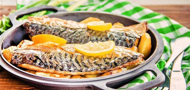 Makrell med spisskummen som i Marokko