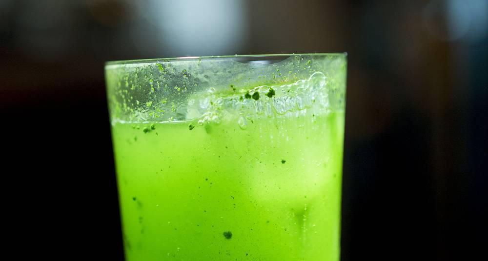 Green Tea Gin and tonic