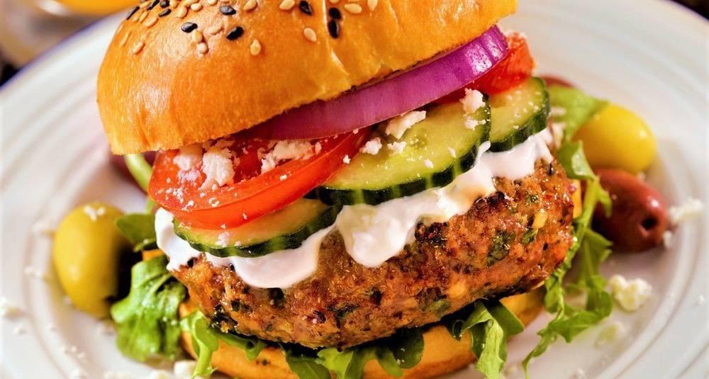 Fredagsburgeren kommer med tzatziki