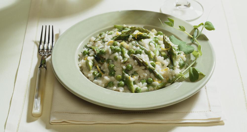 Med denne risottoen gjør du ekstra stas på aspargesen mens den er på sitt beste