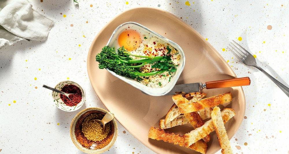 Bakte egg er luksuriøst og deilig - smak det du også