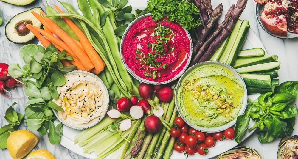 Server rå grønnsaker på denne måten og de får bein å gå på