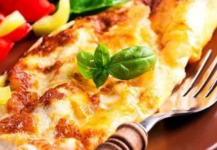 Omelett med camembert