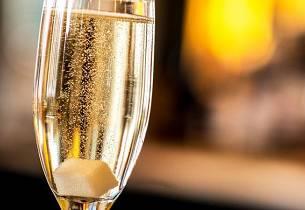 Champagnecocktail med cognac