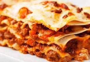 Lasagne med mye smak