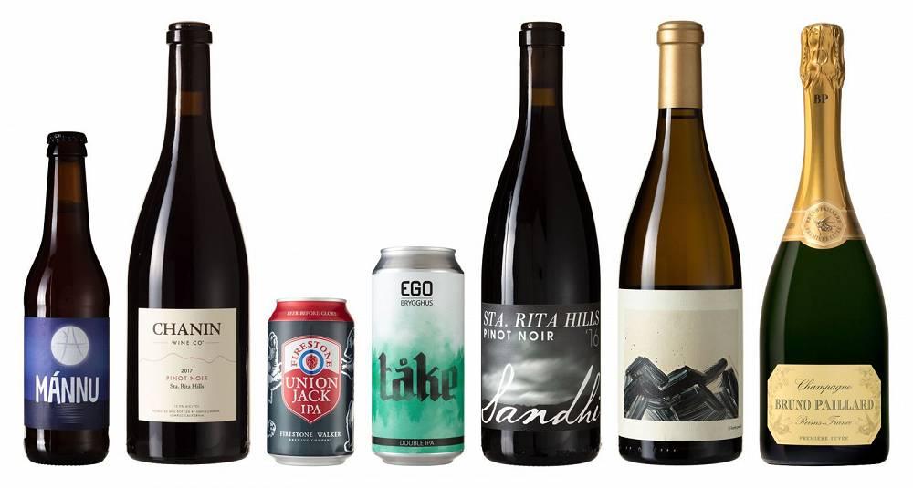Det er ølhylla og California som er mest interessant for basisnyhetene i juli