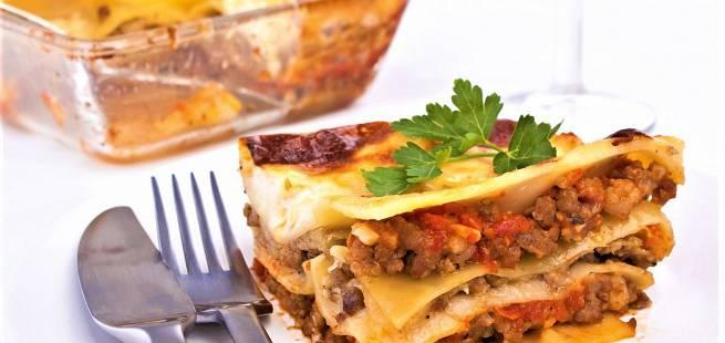 Enkel lasagne