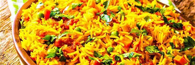 Ris og tomat blir til den mest smakfulle middagsrett