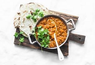Indisk kjøttfri rett Addas