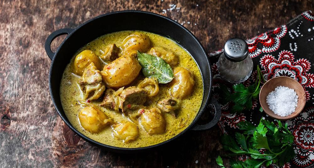 Thailandsk massaman curry med lam