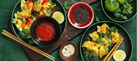 Wontons er Kinas svar på tortellini og er farlig godt. Slik lager du dem selv
