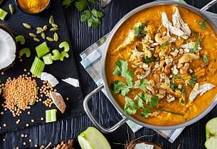 Mulligatawny - Angloindisk kyllingsuppe