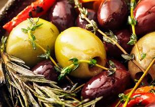 Marinerte oliven