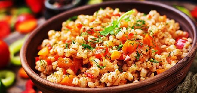 Il Farrotto - spelt og grønnsaker