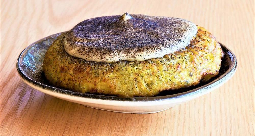 Tortilla med serranoskinke