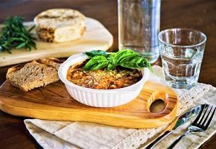 Lam og auberginer - enkel moussaka