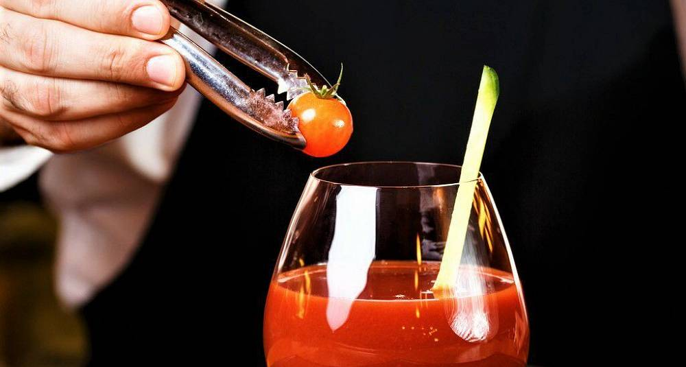 Bloody Mary med whisky