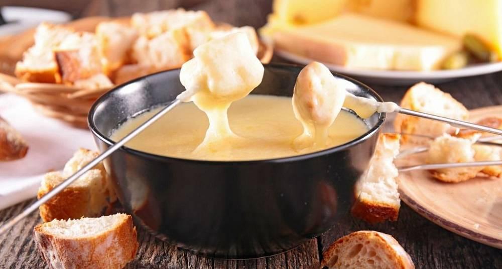 Enkel ostefondue