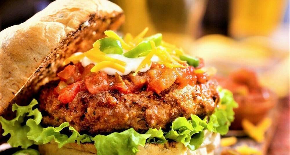 I dag blir det taco i burgerbrød