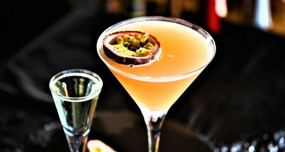 Pasjonsfrukt-martini