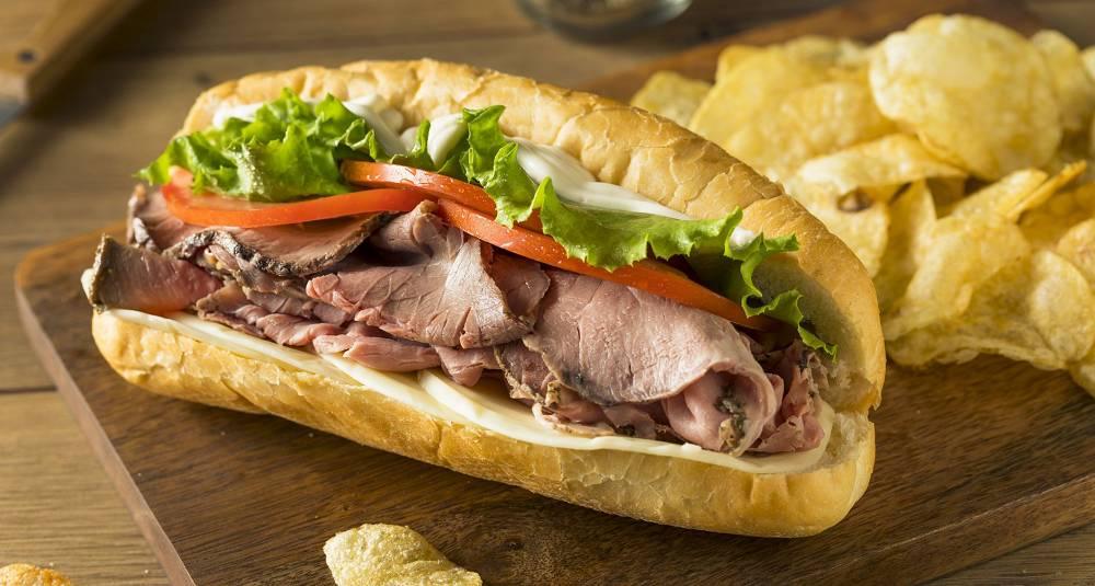 Hot roastbeefsandwich med aioli
