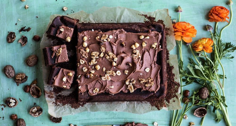 Sjokoladekake med lettrømme