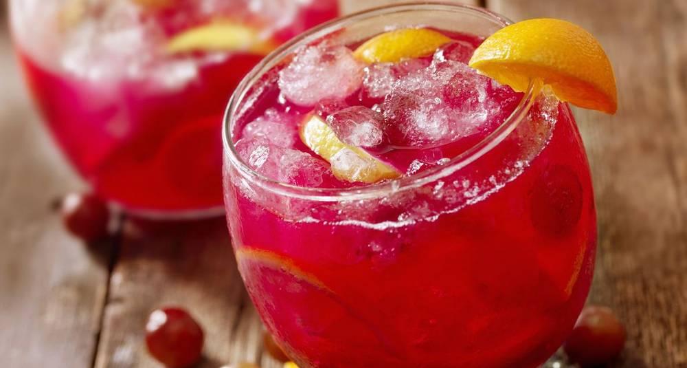 Sangria av rosevin drinkoppskrift