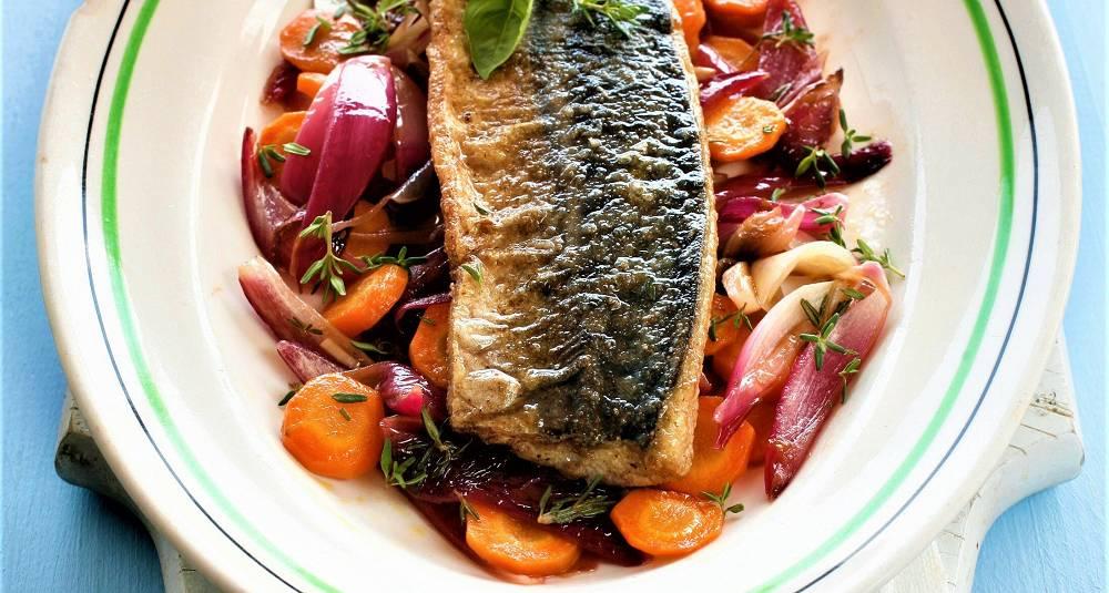 Stekt og marinert makrell