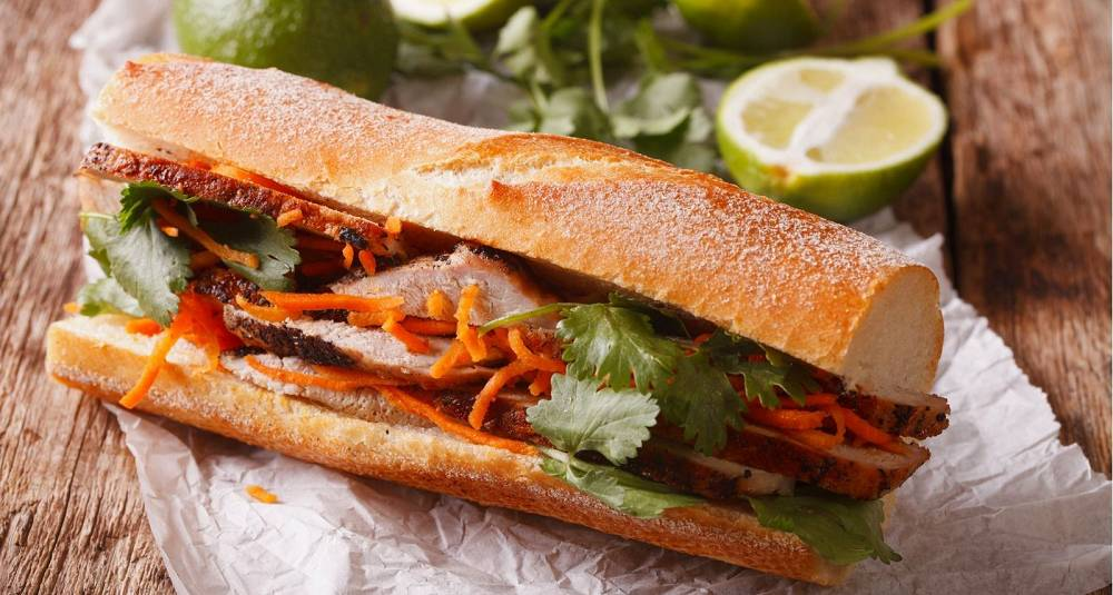 Bánh mì - vietnamesisk baguette