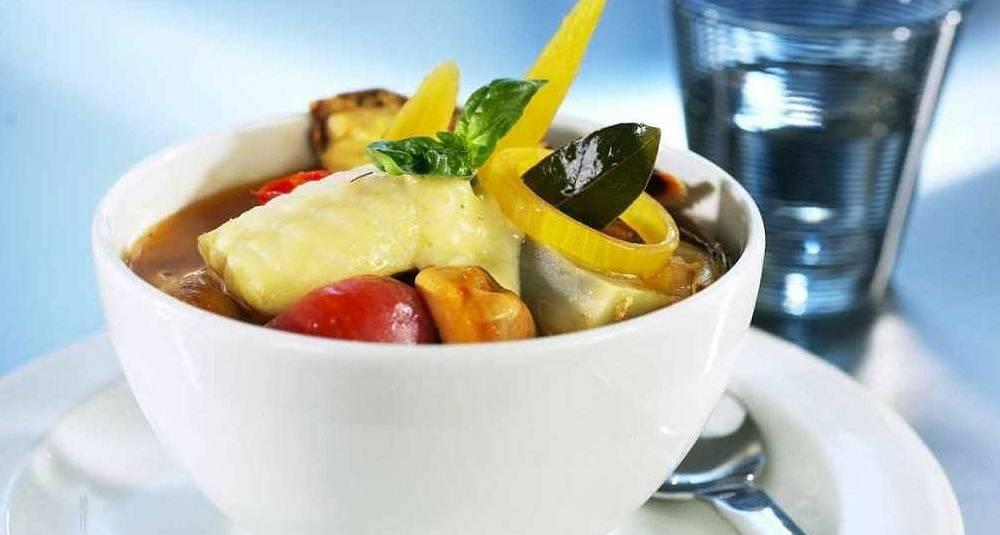 Norsk steinbit bouillabaisse
